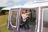 Outdoor Revolution Movelite T4 Lowline Drive Away Awning side door