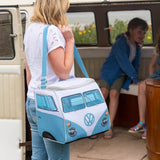 Volkswagen / VW 30 Litre Camper Van Cool Bag - Dove Blue - Lifestyle image