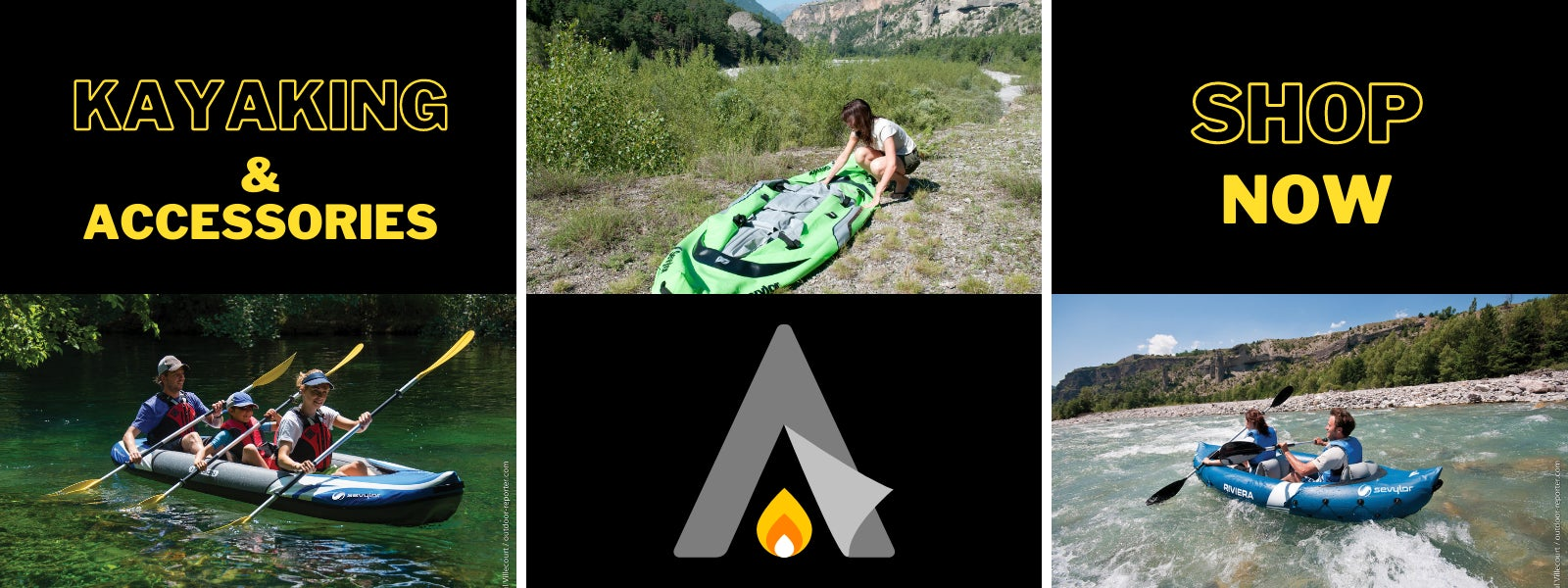 Aztec leisure kayaks & accessories