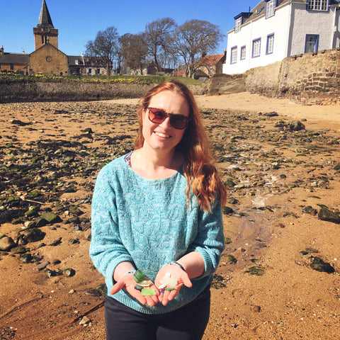 Beach Combing on Anstruther Beach