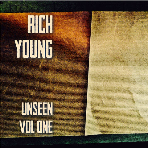 Unseen Vol One - Rich Young CD (NEW RELEASE)