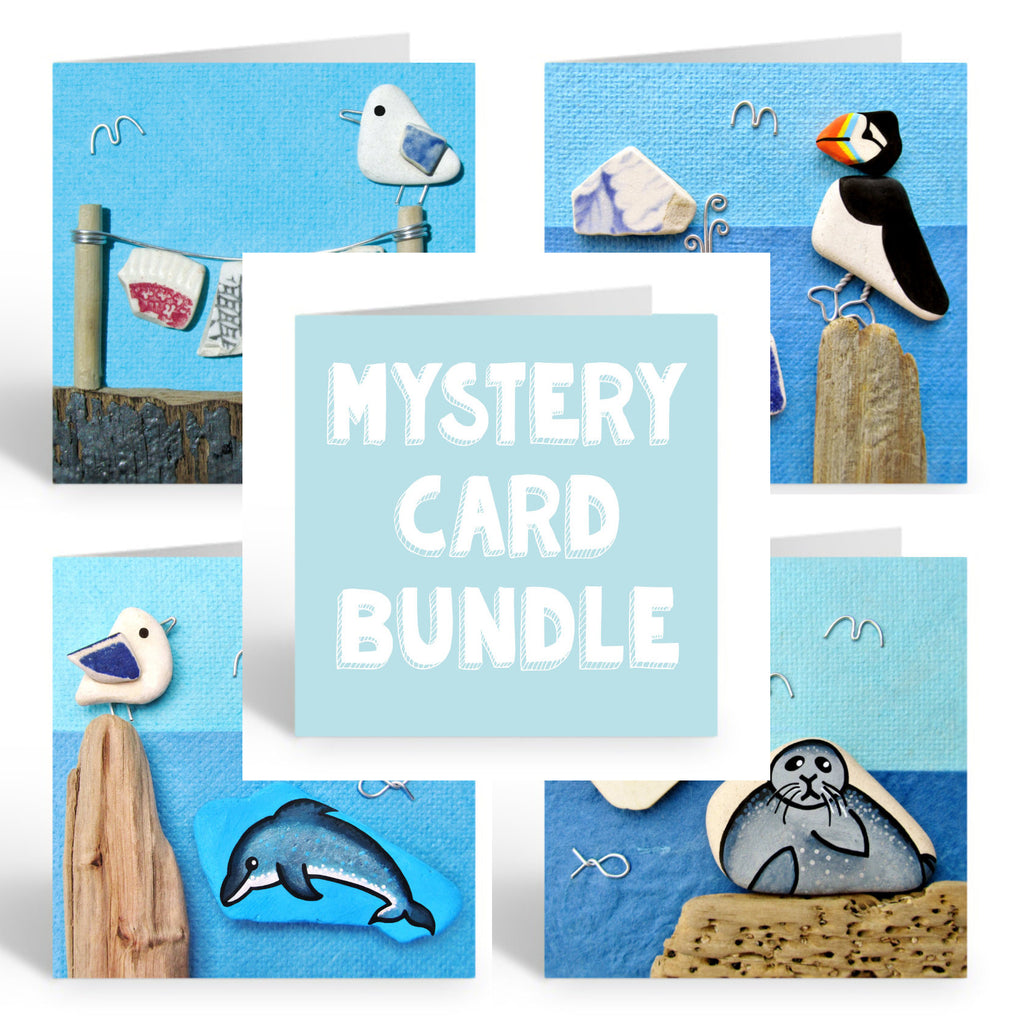 5 x Greetings Card Bundle - Mystery Pack! (No. 387)