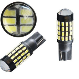 T10/T15 (194/168/158) 54-SMD 3014 Xenon White LED Replacement Bulbs - Autolizer