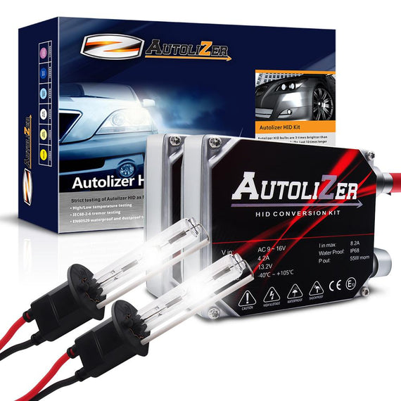 55W First Gen. Heavy Duty H1 Xenon Conversion HID Headlight Kit - Autolizer