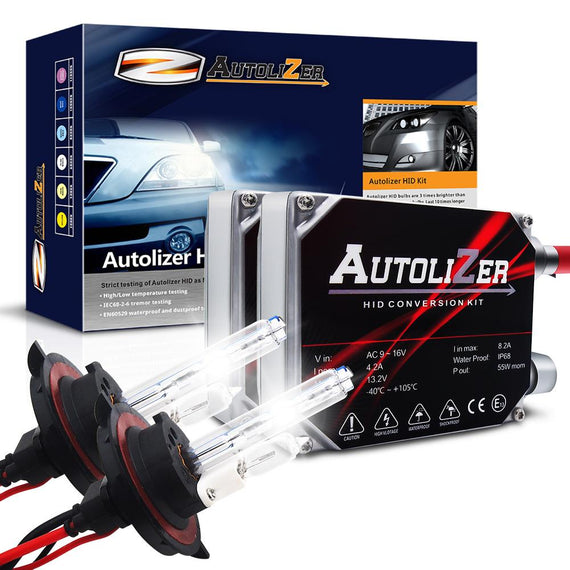 55W First Gen. Heavy Duty H13 (9008) Xenon Conversion HID Headlight Kit - Hi/Lo - Autolizer
