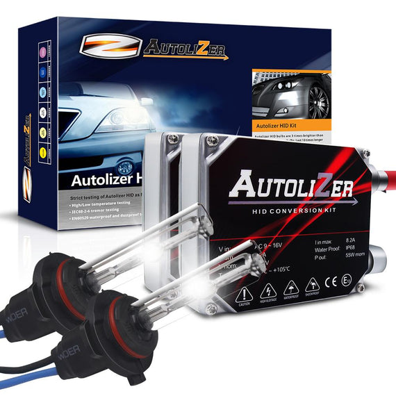55W First Gen. Heavy Duty H10 (9140 9145 9155) Xenon Conversion HID Headlight Kit - Autolizer