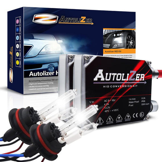 55W First Gen. Heavy Duty 9007 (HB5) Xenon Conversion HID Headlight Kit - Hi/Lo - Autolizer