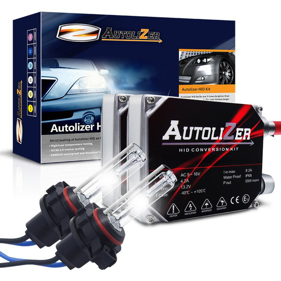 55W First Gen. Heavy Duty 5202 (H16 9009) Xenon Conversion HID Headlight Kit - Autolizer