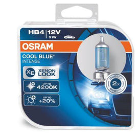 Osram 9006 (HB4 9012) Cool Blue Intense Halogen Headlight Replacement Bulbs - 9006CBI - 1 Pair - Autolizer