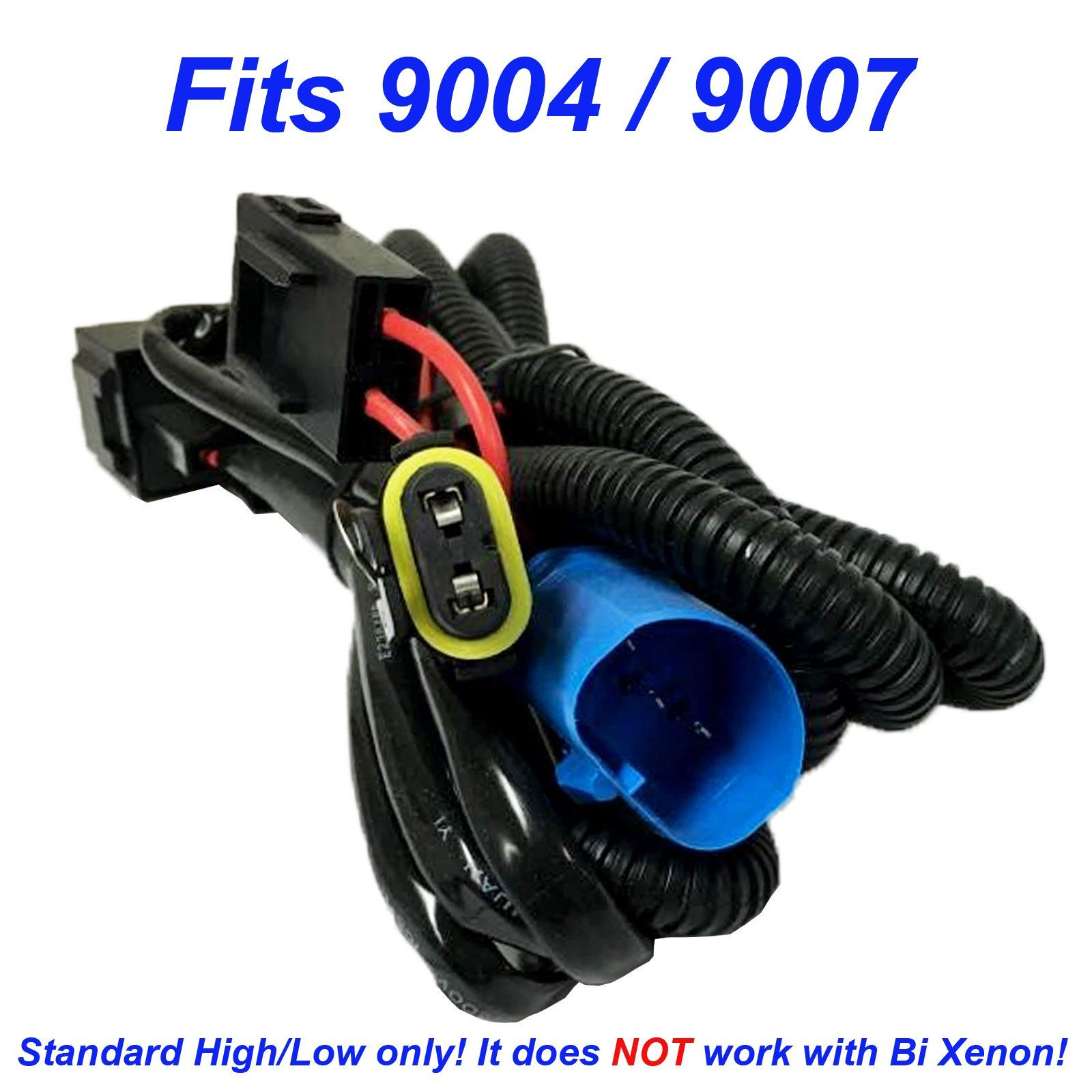 Hi Lo Hid 9007 Wiring Harness Trusted Diagrams H1 Bi Xenon Free Image About Diagram And Schematic Kit 9004 Hb1 Hb5 Single Beam Wire Relay 2001 Ford Ranger