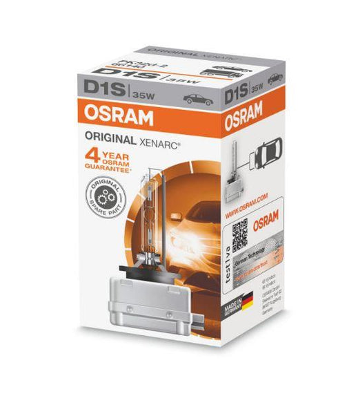 Osram D1S Xenarc Original OEM HID Xenon Headlight Lamp Replacement  Bulbs - 66140 - 1 PCS - Autolizer