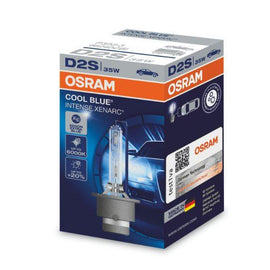 Osram D2S Cool Blue Intense Xenarc HID Xenon Headlight Replacement Bulbs - 66240CBI - 1 PCS - Autolizer