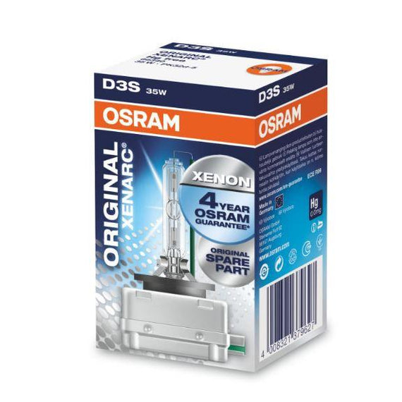 Osram D3S Xenarc Original OEM HID Xenon Headlight Lamp Replacement Bulbs - 66340 - 1 PCS - Autolizer