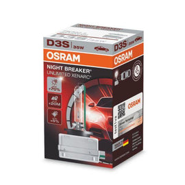 Osram D3S Xenarc Night Breaker Unlimited Xenon Headlight Lamp Replacement Bulbs - 66340XNB - 1 PCS - Autolizer