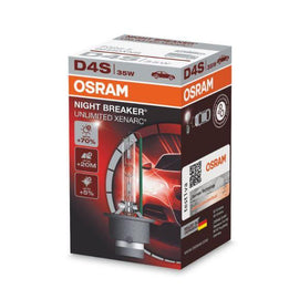 Osram D4S Xenarc Night Breaker Unlimited Xenon Headlight Lamp Replacement Bulbs - 66440XNB - 1 PCS - Autolizer