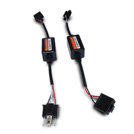H4 (HB2 9003) LED Headlight Kit CanBUS Warning Canceller Harness Adapters - Autolizer