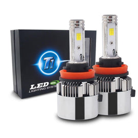 2-Sided Seoul Korean CSP LED Headlight Conversion Kit - CanBUS Error Free & Adjustable Beam Pattern - Autolizer