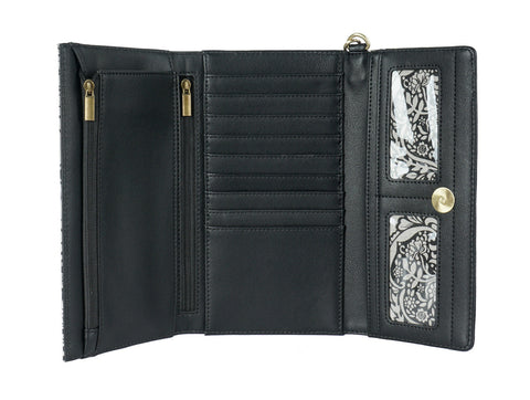 Paris Nights Trifold Wallet