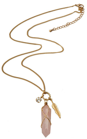 Reflections Necklace Pink