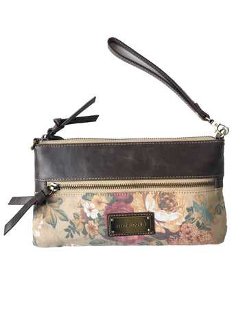 Vintage Bloom Clutch