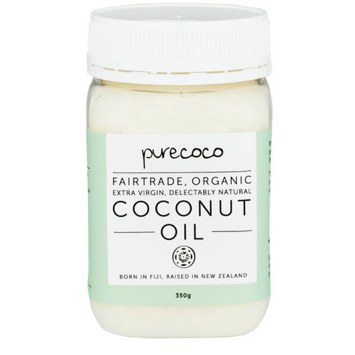 Organic Extra Virgin Coconut Oil 400ml (350g)