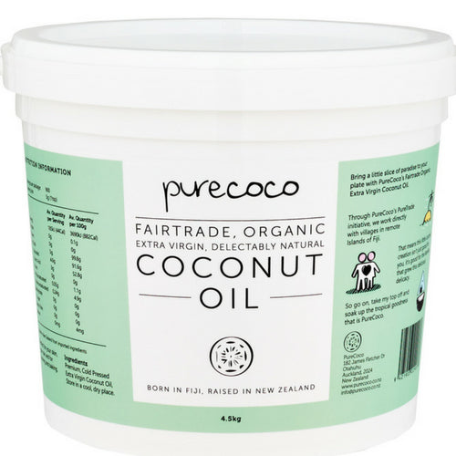 Organic Extra Virgin Coconut Oil (4L & 5L)