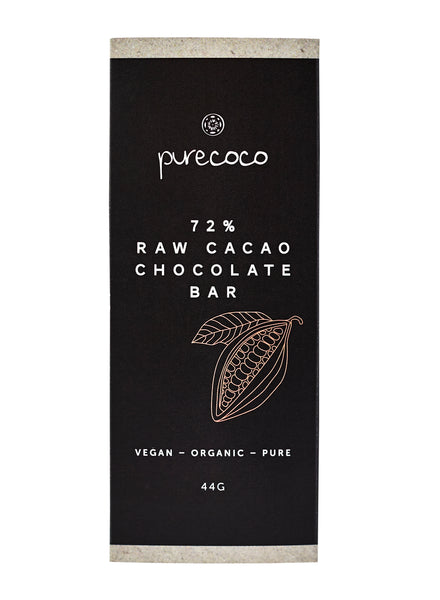 Organic 72% Cacao Chocolate Bar