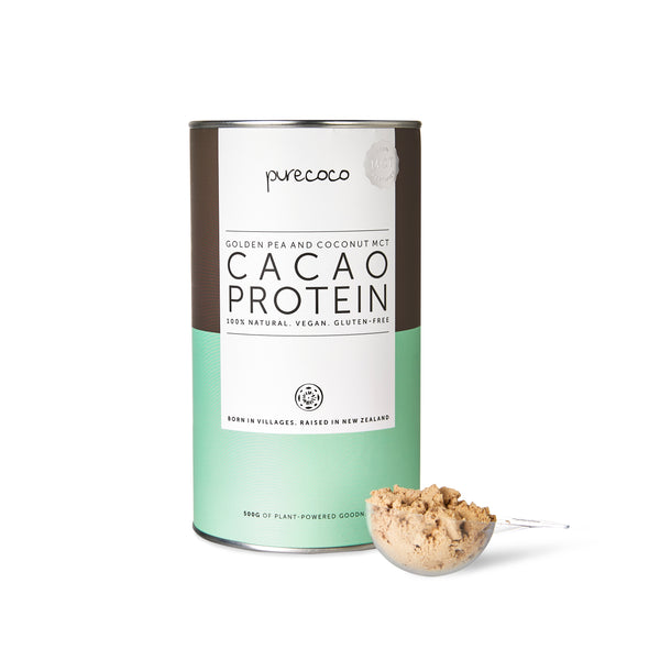 PureCoco Premium MCT Cacao Vegan Protein 500g (Now Available! 💪)