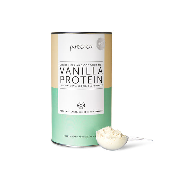 PureCoco Premium MCT Vanilla Vegan Protein 500g (Now Available! 💪)