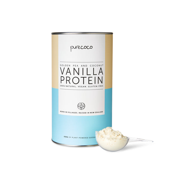 PureCoco Essential Vanilla Vegan Protein 500g (Now Available! 💪)