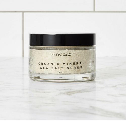 Organic Salt Scrub (Handmade in NZ)