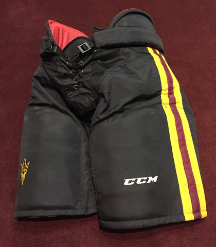 ASU Hockey Team Stock Black Pants