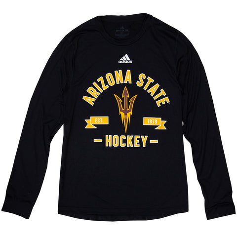 ASU Hockey Men's Black Est. 1979 Long Sleeve T-Shirt