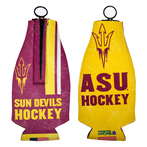 ASU Hockey Zip Bottle Cooler