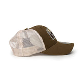 "ASU Hockey Brown ""A"" Mountain Trucker Hat"