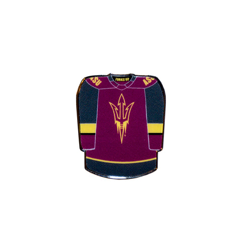 ASU Hockey Jersey Collector Pin