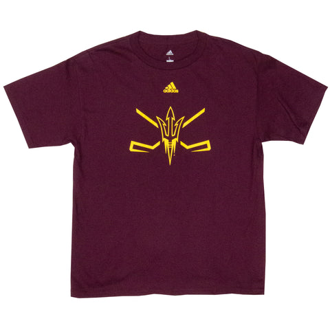 ASU Hockey Youth Maroon Amplifier T-Shirt