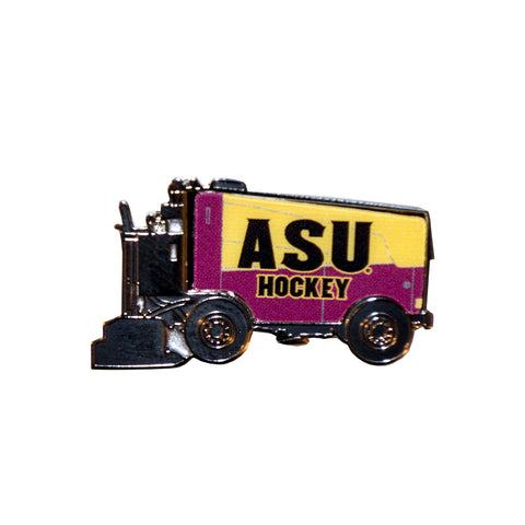 ASU Hockey Zamboni Collector Pin
