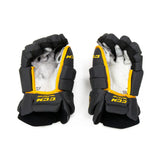 ASU Hockey Team Stock Gray Gloves
