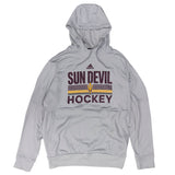 ASU Hockey Men's Gray Athletic Hoodie