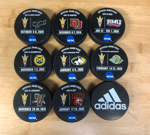 ASU 2019-2020 Official Game Pucks