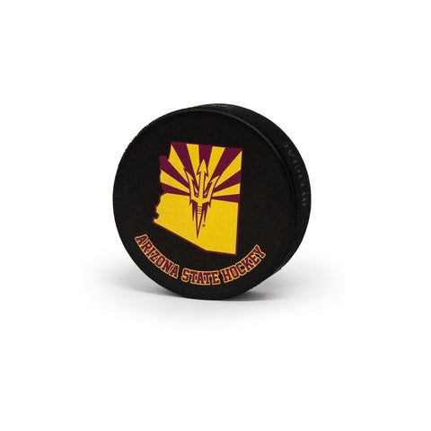 ASU Hockey Collectible Puck
