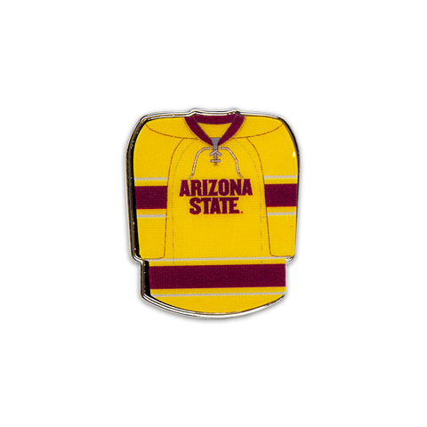 ASU Hockey Gold Jersey Collector Pin