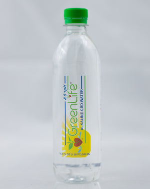 GreenLife Water Alkaline CBD Water - Bottle