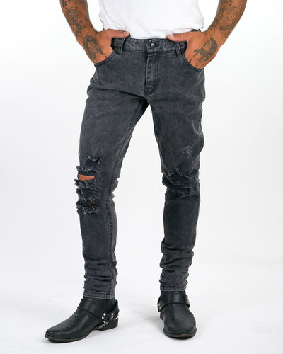 Thrasher Denim Jeans - Black