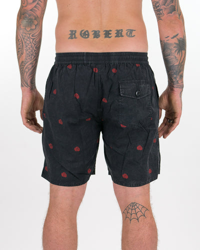 Bloom Boardies - Black Rose