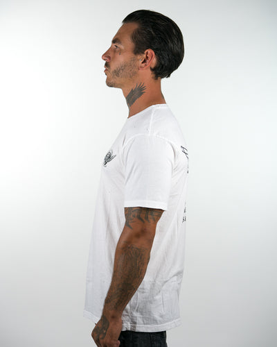 Shovel tee - white