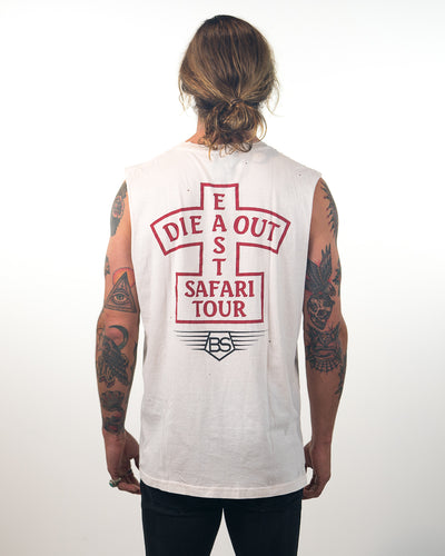 Die Out East Tank White