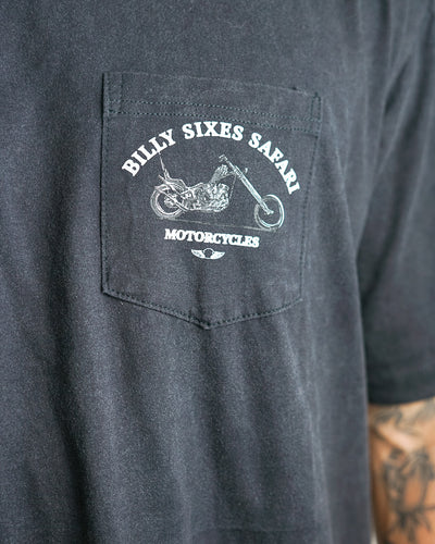 BSS Motorcycles - Pocket Tee