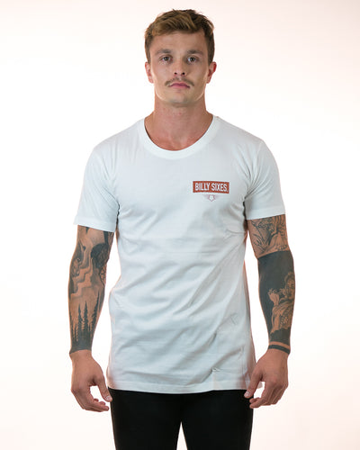 Distressed Slim Fit Tee